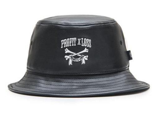 Profit X Loss - Monogram Leather Bucket Hat
