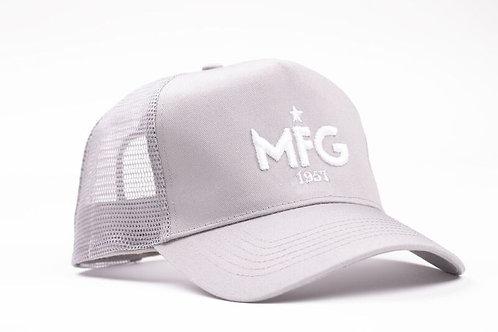 MFG - Light Grey Trucker Cap