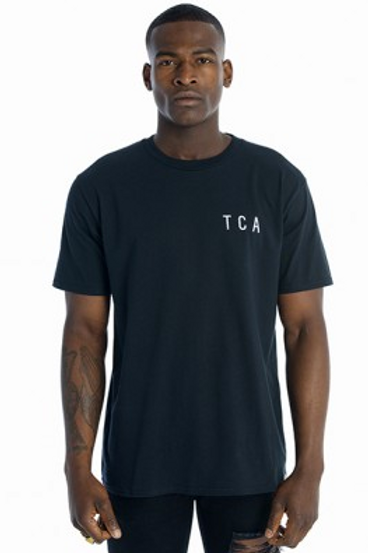 Tall Crooks - TCA Embroidered Logo T-Shirt Black
