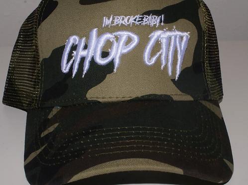 Chop City - Camo Trucker