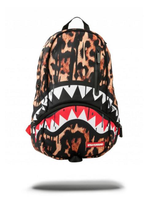Sprayground - Leopard Drips Shark DLXX