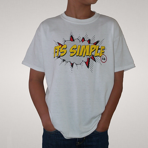 Its Simple - Kids T-Shirt (Pop Art Edition)