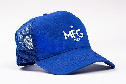 MFG - Royal Blue Trucker Cap