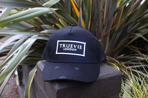 TrueVie - London Black Trucker Hat