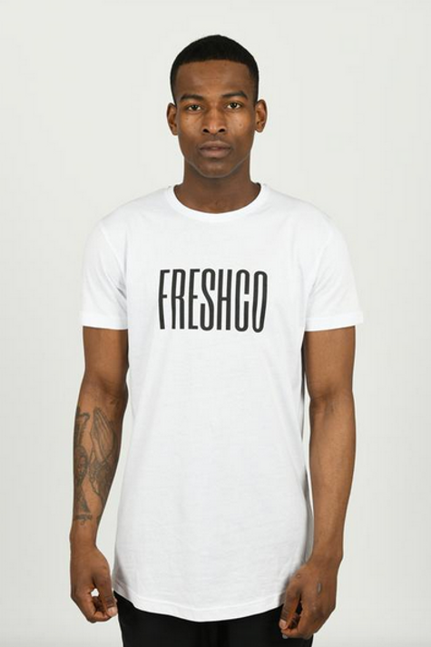Youngfreshco - White Brand Carrier T Shirt
