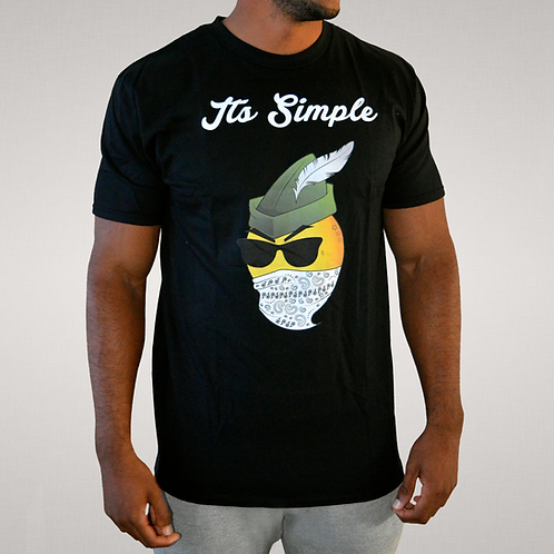 Its Simple - For Richer or Poorer Black Tee