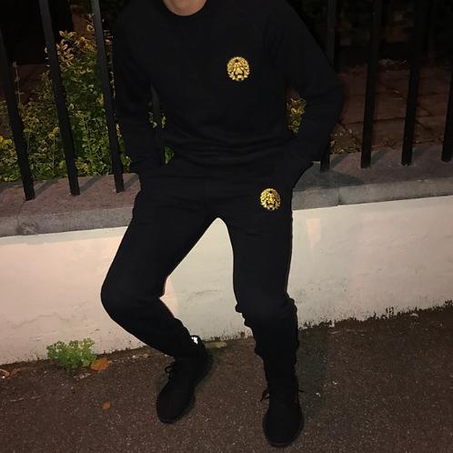 Odum - Black Slim Fit Tracksuit (Sweatshirt)