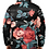 Thumbnail: I Am Dope - Seamless Floral Puffer Jacket