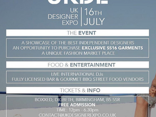 Don't Miss The UK Designer Expo In Birmingham! UKDE Summer Editions @ Boxxed 16th July