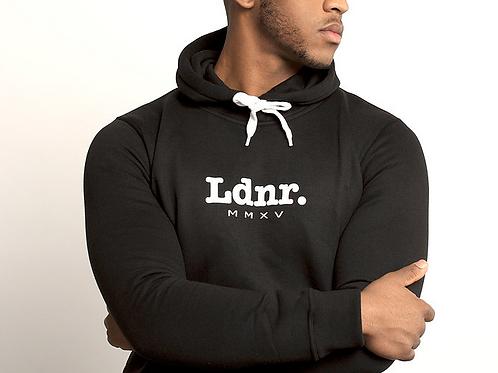 Proud Ldnr - LDNR MMXV Heritage Hoodie - Black