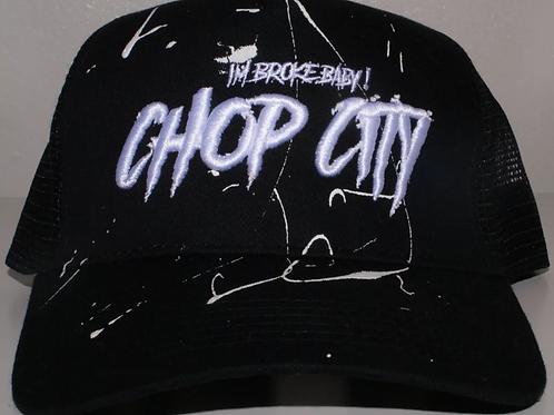 Chop City - Paint Trucker Black/White