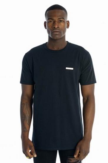 Tall Crooks - Metal Badge T-Shirt Black