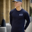 Thumbnail: Ahead Of Time - Navy Fitted Long-sleeved T-shirts