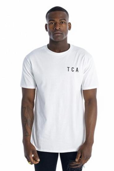 Tall Crooks - TCA Embroidered Logo T-Shirt White