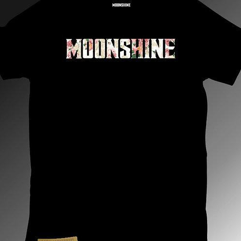Moonshine - Floral Print T-Shirt