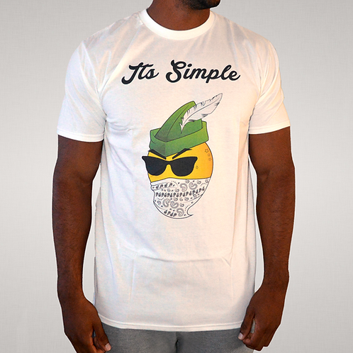 Its Simple - For Richer or Poorer White Tee