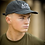 Thumbnail: Ahead Of Time - Navy Distressed Dad Cap