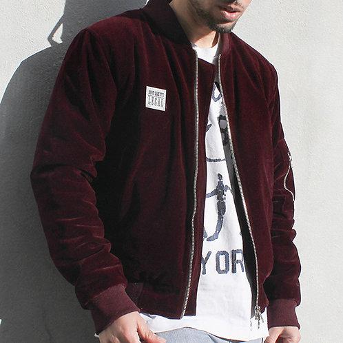 Black Label - Ltd Edition Jacket - Burgundy Velour