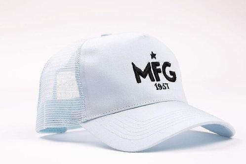MFG - Light Blue Trucker Cap