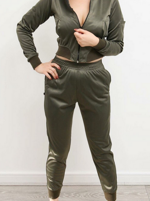 Dray N Blue - Distraction Tracksuit - Olive