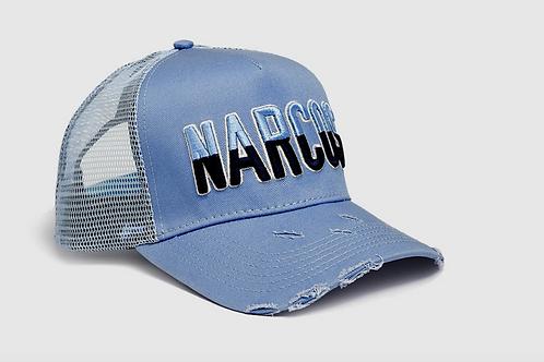 Dapped Clothing - Narcos 3D Trucker - Blue