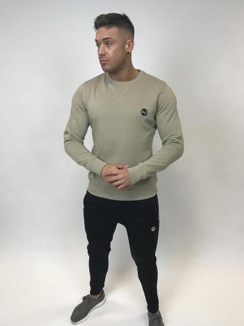 Tremor Apparel - Beige Classic Sweatshirt