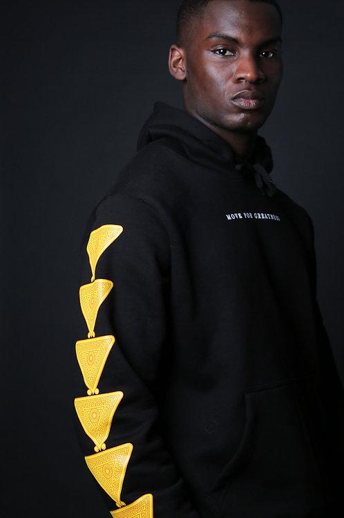 MFG - Black Gold Coast Hooded Jumper