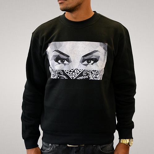 Its Simple - Black 'Lady In Black' Sweatshirt