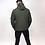Thumbnail: Tremor Apparel - Half Zip Padded Pullover Jacket Olive