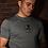 Thumbnail: Blackguard - Red Stripe T-Shirt - Grey