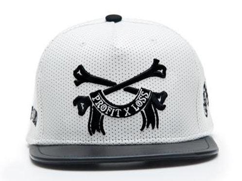 Profit X Loss - Bone Thugs White Perf Leather