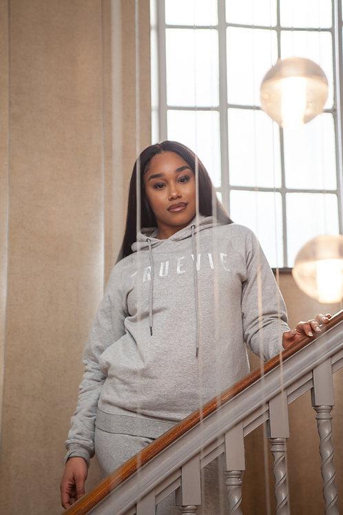 TrueVie - Womens Classic Grey Hoodie