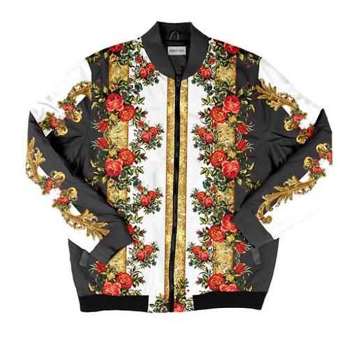I Am Dope - Gold Shine Bomber Jacket