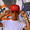 Thumbnail: Ahead Of Time - Red/White Snapback