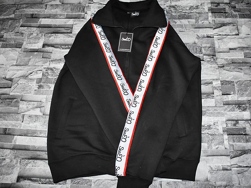 SeeÈO - Black SeeÈO Taped Tracksuit Top