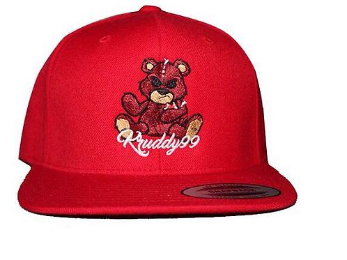 Kruddy99 - Red Kruddy99 Bear Snapback