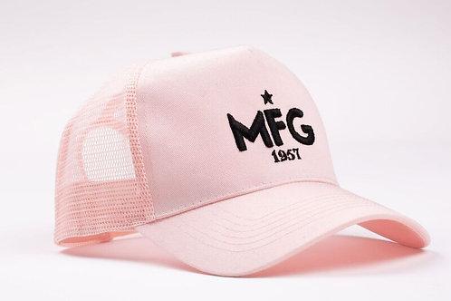 MFG - Light Pink Trucker Cap