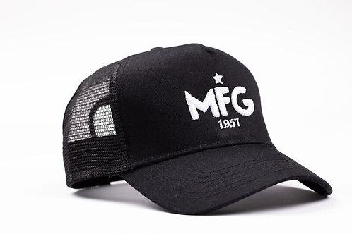 MFG - Black Trucker Cap