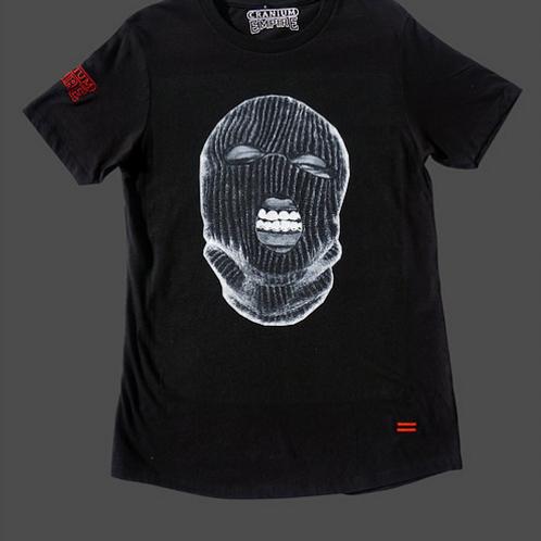 Cranium Empire - Mask On Oversize T-Shirt (Black)