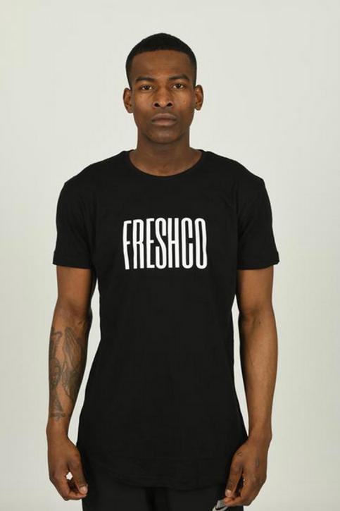 Youngfreshco - Black Brand Carrier T Shirt