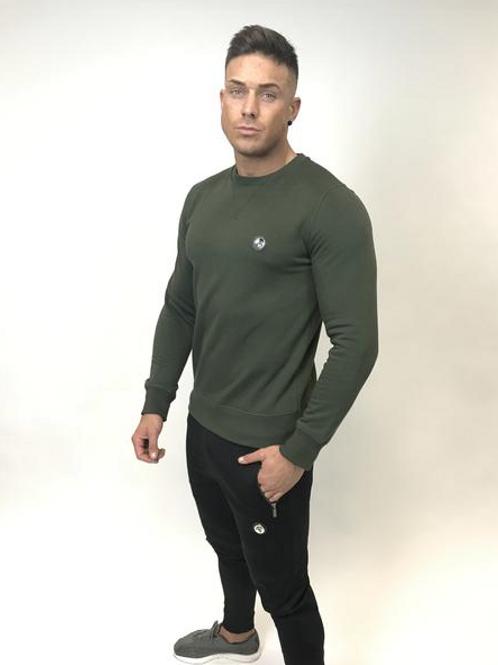Tremor Apparel - Khaki Classic Sweatshirt