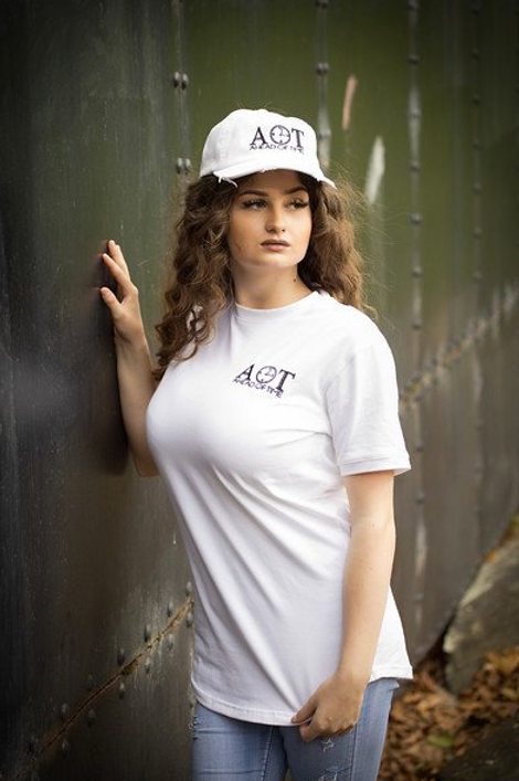 Ahead Of Time - White Fitted T-shirts