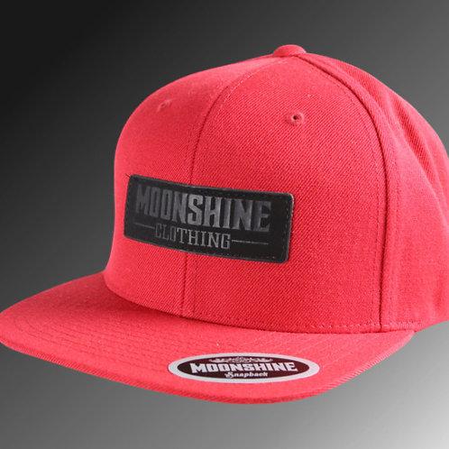 Moonshine - Black Label / Red Black Snapback