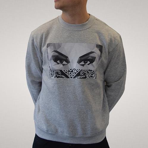 Its Simple - Grey 'Lady In Black' Sweatshirt