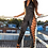 Thumbnail: Dray N Blue - Racer Jumpsuit Black