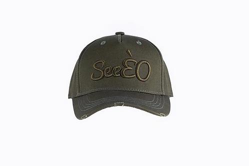 SeeÈO - Limited Edition Khaki SeeÈO Baseball Cap