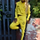 Thumbnail: Kruddy99 - Ladies Crop Hoodie Tracksuit - Yellow