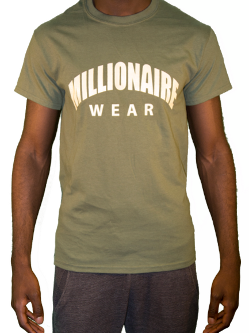 MW Arch Logo - T-Shirt - Green