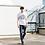 Thumbnail: NNC London - White TTW Tee