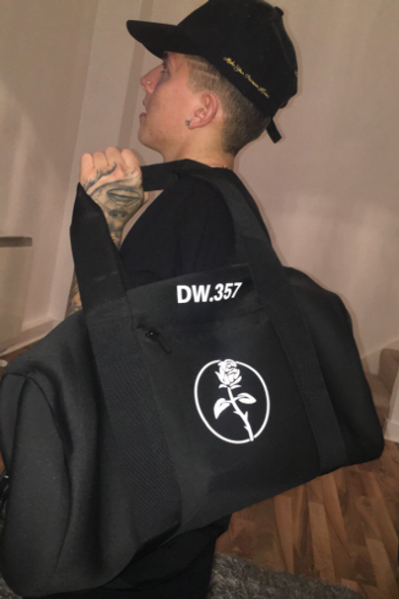 Blackguard - Black Personalised Duffle Bag